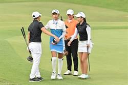 全运会》高尔夫首回合竞争 无人低于标准杆