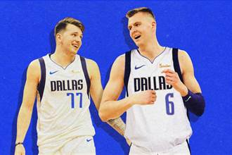NBA》外籍球星雙人組 東契奇波神領銜