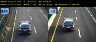 台61線區間測速宣導期 每天271輛車超速