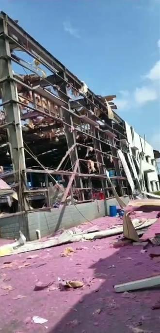 廣西玉林化工廠爆炸 已4死6傷