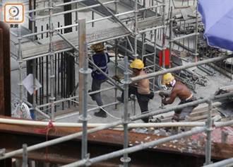 香港建造業工會建議下月起凍薪,10年來首次