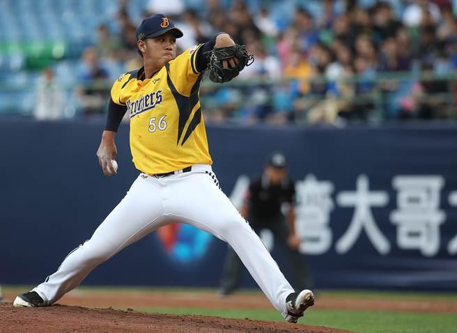台灣大賽G4中信兄弟將派出楊志龍對戰多猛。(中央社)