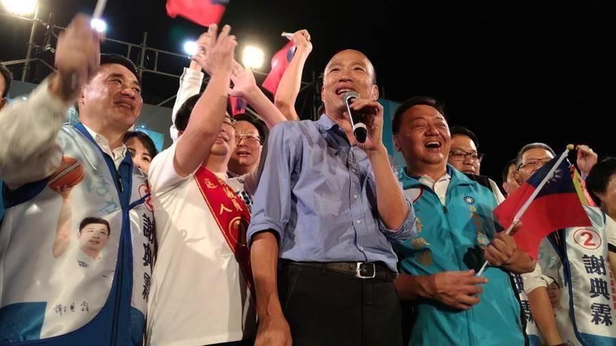 高雄市長韓國瑜。(資料照,吳敏菁攝)