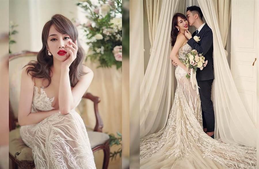 林佩瑤年底將和名廚男友武俊傑結婚。(圖/翻攝自IG)
