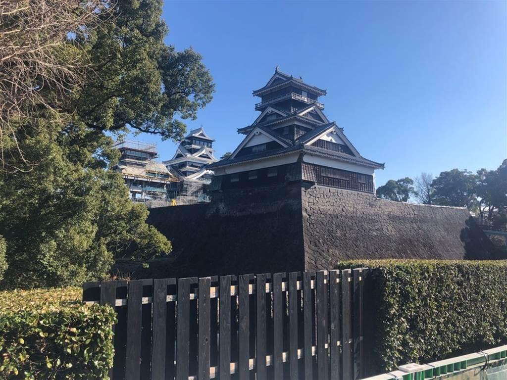 第三名的熊本城,天守預計將於今年秋天重新開放大眾參觀。(TripAdvisor 提供)