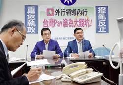 台灣pay外行領導內行 藍委痛批財政部、金管會