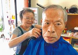 50年剃頭情緣 9旬老翁非她不可