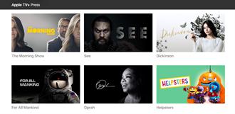蘋果為Apple TV+推出專屬官網 現有15部原創影集