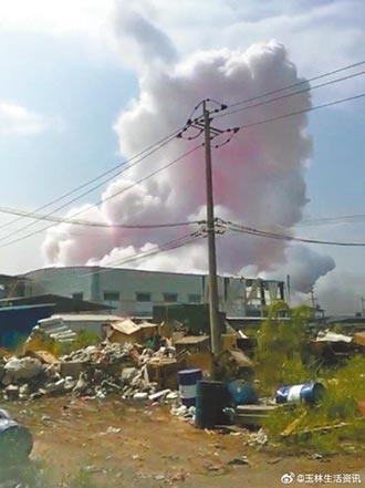 宛如炸山 廣西化工廠爆炸4死