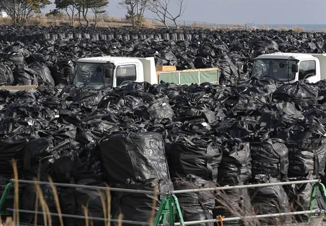 強颱襲日 福島核污廢土遭沖走