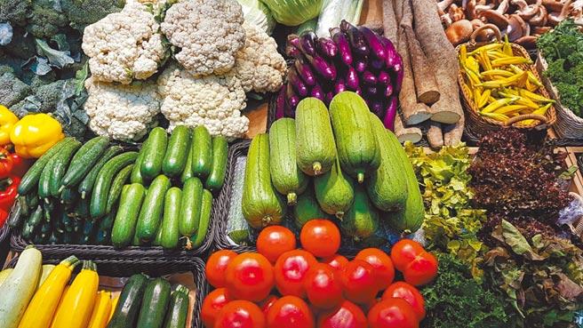 新光三越台北信義A4 B1「食穗」,專售有機蔬食食材。(新光三越提供)