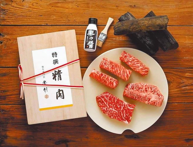 新光三越台北信義A4 B1「樂軒PREMIUM」和牛精肉鋪,提供饕客美食選擇。(新光三越提供)