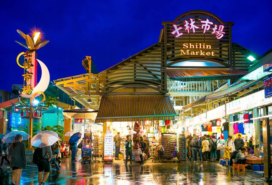 士林夜市示意圖。(圖片取自Shutterstock)