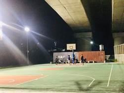 西濱籃球場改投幣式照明 通霄鎮民讚:使用者付費