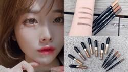 日本妞都在畫小臉眉型!極細筆芯手殘也可簡單打造毛流感柔霧眉