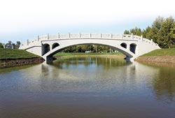 智慧化建造 河北3D印出趙州橋