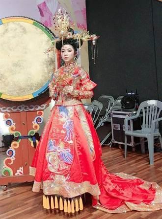 明新科大宮廷風「紅鳳凰」韓國美容藝術大賽包辦6金