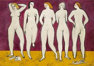 曾讓陳泰銘大賺4億 「五裸女」11月再現香港拍場