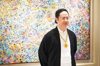 陳金龍光之子畫作 台北藝博會上秀