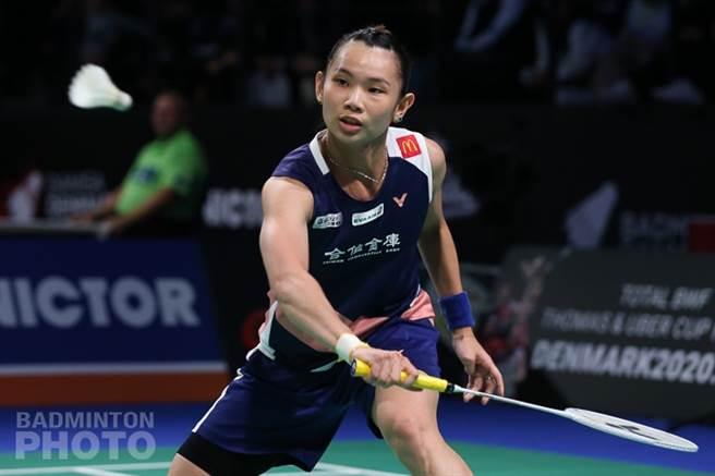 戴資穎在丹麥羽球公開賽闖進女單8強,繼續朝連霸前進。(Badminton Photo提供)