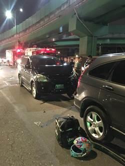 外送意外頻傳  北市交大:10月已釀42起事故