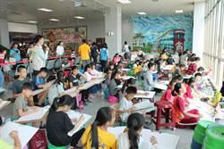 金門航空站寫生比賽  邀小朋友看飛機、畫飛機