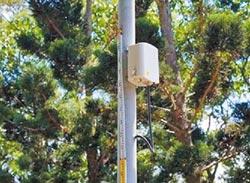 監控空品 竹市布建345個感測器