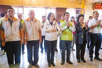 選對人台灣才會受尊重 蔡英文:我是唯一守住主權的領導者