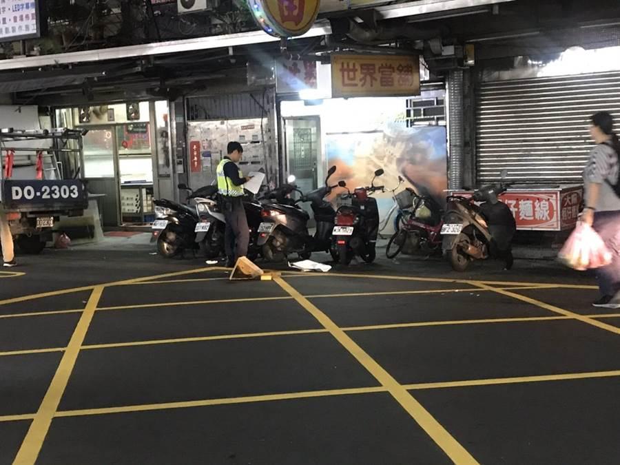 北市吳興街晚上發生砍人案件,警方正循線緝凶中。(翻攝照片/林郁平台北傳真)