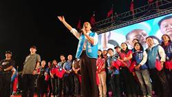 韩国瑜致词温情喊话 台南人挺民进党挺够久了