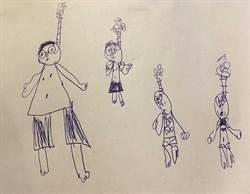 見學生畫吊死人 師嚇傻逼問尷尬了