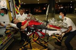 腸臟溢出 港鐵大埔墟站藍儂牆發生嚴重傷人案