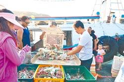 萬里蟹捕獲量增 價格回穩