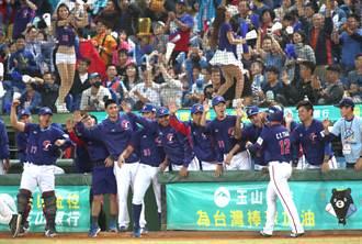 棒球》去年拿3冠 台灣棒球排名第4與韓差距小
