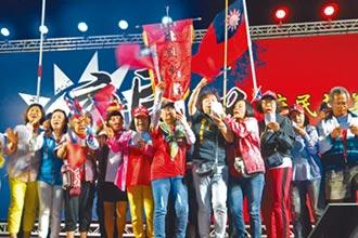 旺旺中時最新民調 差距拉大到10個百分點!蔡仍領先韓 未表態者續攀升
