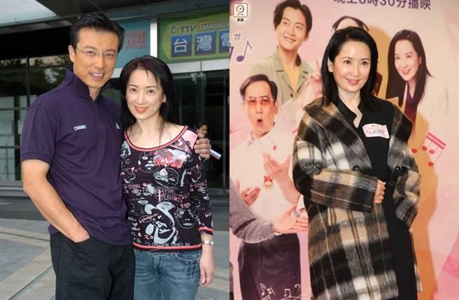 龔慈恩和林煒離婚後首度露面。(圖/中時資料照片;取自《on.cc東網》)