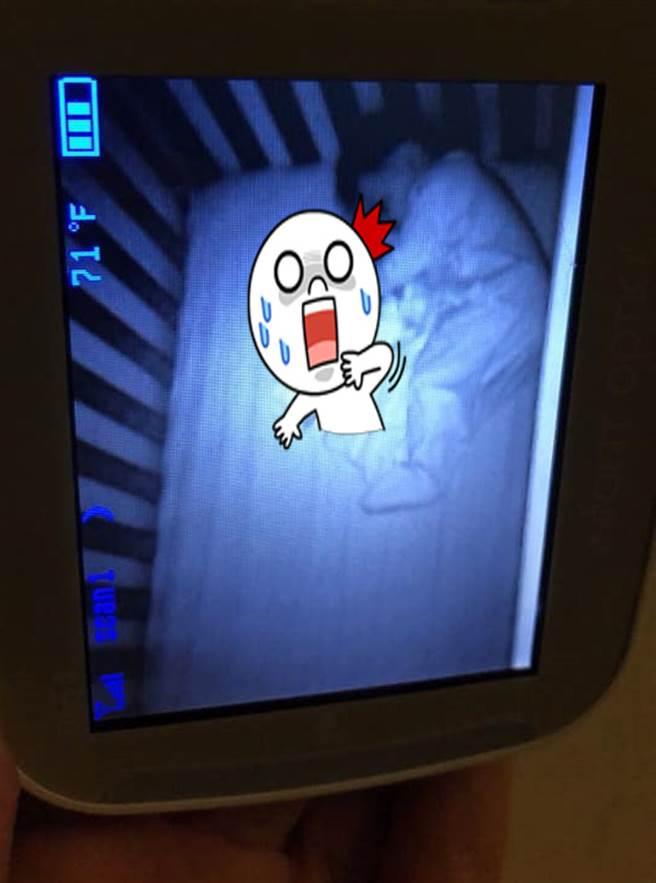 宝宝监视器拍诡异画面 网劝快逃