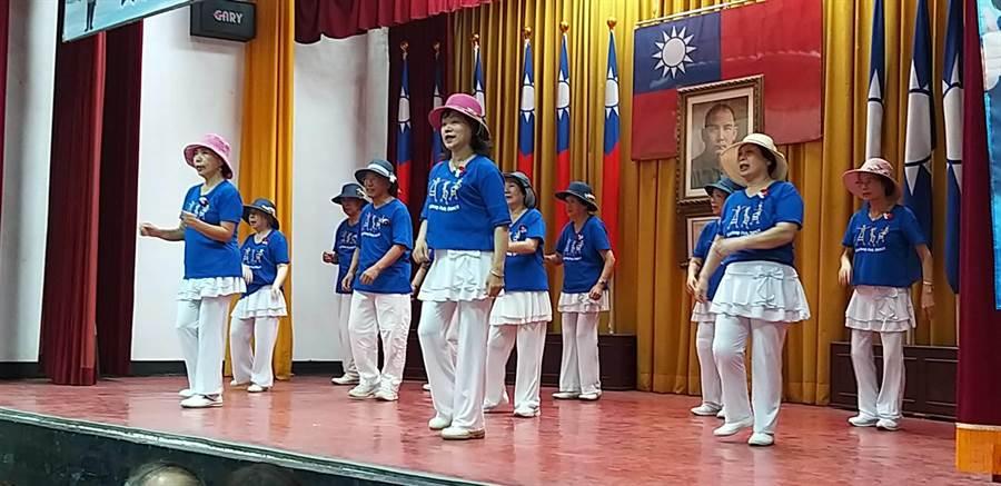 國民黨基隆市黨部舉辦韓友見面會,號召基隆韓家軍一起現身挺韓。(國民黨基市黨部提供/許家寧基隆傳真)