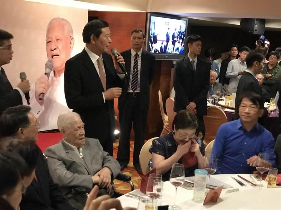 李登輝:唯一支持蔡英文。照片:曾薏蘋攝