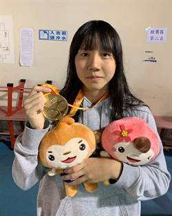 李宥彤奪竹市全運會女子游泳項目首金