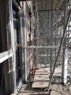 高雄建地工人失足 32樓墜17樓死亡