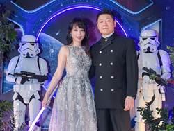 朱蕾安「星戰婚禮」為富二代老公圓夢 甜稱他「巨巨」
