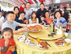 萬里鱻蟹宴 80桌千人吮指嘗鮮