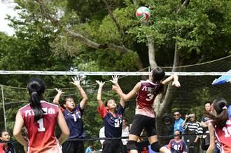 新竹縣六家國小排球隊永信盃排球賽奪雙料冠軍
