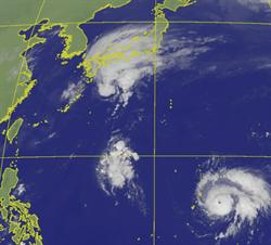博羅依明轉強颱 氣象局:三地區連雨3天