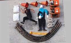 中市西屯區公所拍抽水機操作零成本 防災輕鬆上手