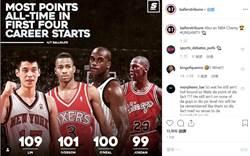 NBA》林書豪超狂數據 3大球星都輸他