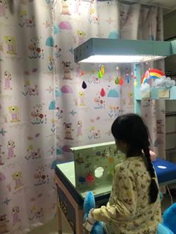 超有才!高市大同醫院自創兒童專屬注射台