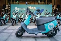 GoShare進軍北市 年內投入3千輛共享電動機車