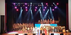 韓國瑜夫人李佳芬出席余光中紀念音樂會當「觀眾」